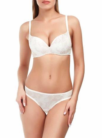 Marc & Andrä© naisten rintaliivit, valkoinen-beige 75D