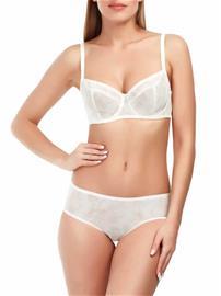 Marc & Andrä© naisten rintaliivit, valkoinen-beige 90C