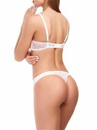 Marc & Andrä© naisten alushousut, valkoinen-pinkki 36