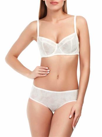 Marc & Andrä© naisten rintaliivit, valkoinen-beige 85E