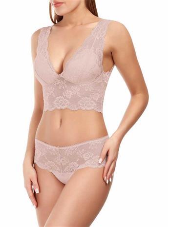 Marc & Andrä© naisten rintaliivit top, pinkki 42