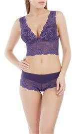 Marc & Andrä© naisten rintaliivit, violetti 38