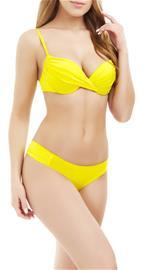 Marc & Andrä© naisten bikini yläosa, keltainen 38A