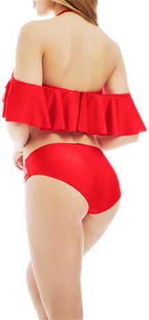 Marc & Andrä© naisten bikinialaosa, punainen 36