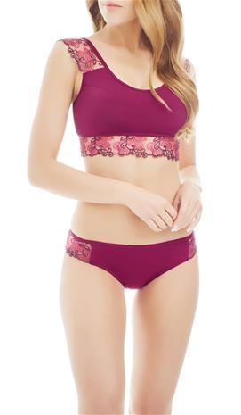 Marc & Andrä© naisten bikini yläosa, fuksia 38