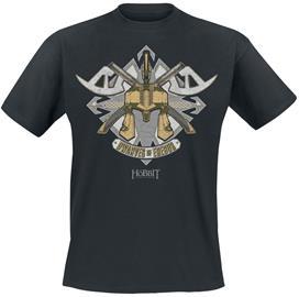 Hobitti - Dwarves Of Erebor - T-paita - Miehet - Musta