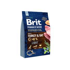 Brit Premium by Nature Light kaikkien rotujen ylipainoisille aikuisille koirille 3 kg
