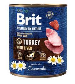 Brit Premium by Nature kalkkuna-maksa pennuille 800 g