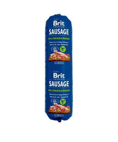 Brit Premium Makkara kana-riista 800 g