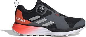Adidas M TERREX TWO BOA TRAIL RUNNING SHOES CORE BLACK