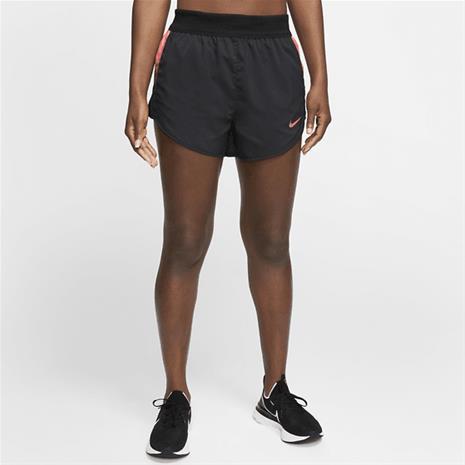 Nike W NK 2IN1 SHORT RUNWAY BLACK/LASER CRIMSO