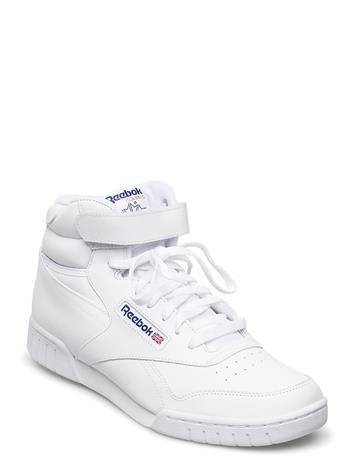 Reebok Classics Ex-O-Fit Hi Korkeavartiset Tennarit Valkoinen Reebok Classics WHITE INT