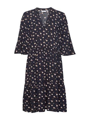 Saint Tropez Bellissz Dress Lyhyt Mekko Saint Tropez FARM F. BLUE DEEP