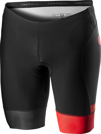 Castelli Free Tri Shorts Men, red/fiery red