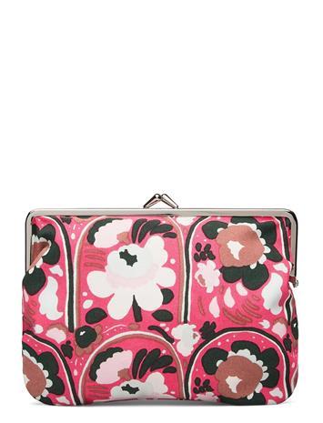 Marimekko Puolikas Kukkaro Karuselli Bags Clutches Vaaleanpunainen Marimekko PINK,BROWN,LIGHT BLUE
