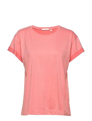 Karen By Simonsen Bluebellkb Tee T-shirts & Tops Short-sleeved Oranssi Karen By Simonsen GEORGIA PEACH