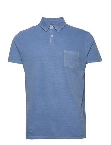 Marc O'Polo Polos Short Sleeve Polos Short-sleeved Sininen Marc O'Polo RIVIERA