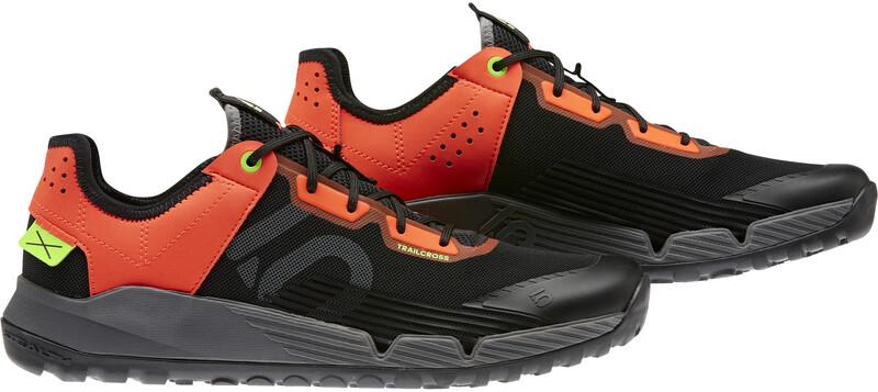 adidas Five Ten Trailcross LT Mountain Bike Shoes Men, core black/grey three/solid red, Miesten urheilukengät