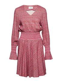 HOLZWEILER Stien Dress Lyhyt Mekko Vaaleanpunainen HOLZWEILER PINK PRINT SMALL