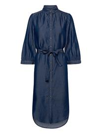 Soft Rebels Rue Shirt Dress Polvipituinen Mekko Sininen Soft Rebels RINSE WASH
