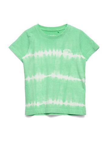 name it Nmmvano Ss Top J T-shirts Short-sleeved Vihreä Name It SPRING BUD