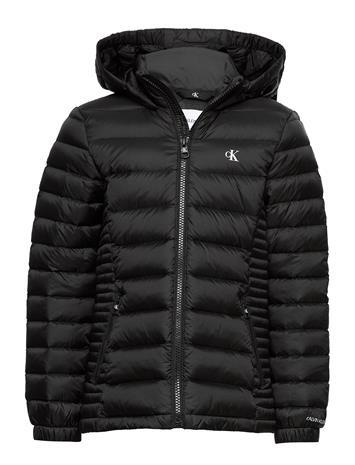 Calvin Klein Fitted Light Down Jacket Toppatakki Musta Calvin Klein CK BLACK
