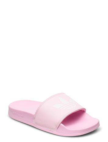 adidas Originals Adilette Lite W Shoes Summer Shoes Pool Sliders Vaaleanpunainen Adidas Originals TRUPNK/FTWWHT/TRUPNK