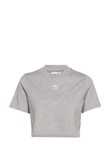adidas Originals Cropped Tee Crop Tops Harmaa Adidas Originals MGREYH