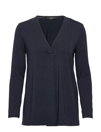 Weekend Max Mara Multib T-shirts & Tops Long-sleeved Sininen Weekend Max Mara ULTRAMARINE