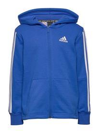 adidas Performance Yb Mh 3s Fz Huppari Sininen Adidas Performance BLUE/WHITE