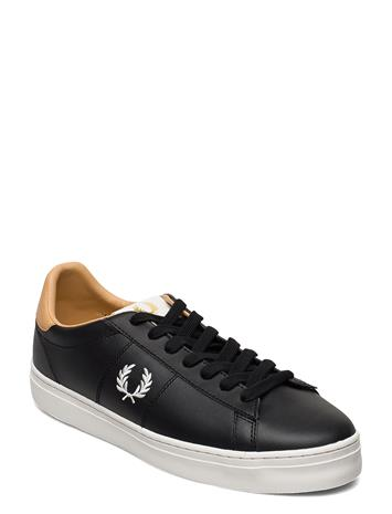 Fred Perry Spencer Vulc Leather Matalavartiset Sneakerit Tennarit Musta Fred Perry BLACK