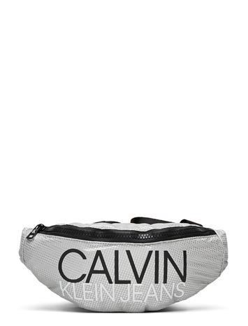 Calvin Klein Institutional Logo Waist Pack Tote Laukku Hopea Calvin Klein SILVER METALLIC