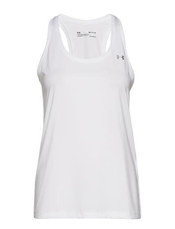 Under Armour Tech Tank - Solid T-shirts & Tops Sleeveless Valkoinen Under Armour WHITE