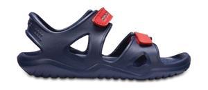 """Crocsâ""""¢ lasten vapaa-ajan kengät Kids' Swifwater River Sandal, sininen 30"""