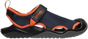 "Crocsâ""¢ miesten vapaa-ajan jalkineet Swiftwater Mesh Deck Sandal Men's, sininen 44,5"