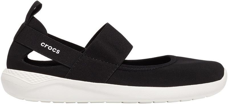 "Crocsâ""¢ naisten vapaa-ajan kengät Literide Mary Jane Womens, musta 39,5"