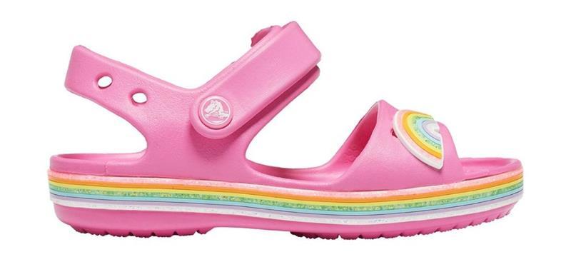 "Crocsâ""¢ lasten vapaa-ajan kengät Crocband Imagination Sandal PS, pinkki 28"