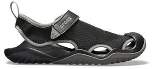 "Crocsâ""¢ miesten vapaa-ajan jalkineet Swiftwater Mesh Deck Sandal Men's, musta 45,5"