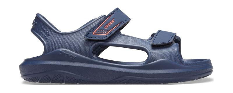 "Crocsâ""¢ lasten vapaa-ajan kengät Swiftwater Expedition Sandal Kids, sininen 28"