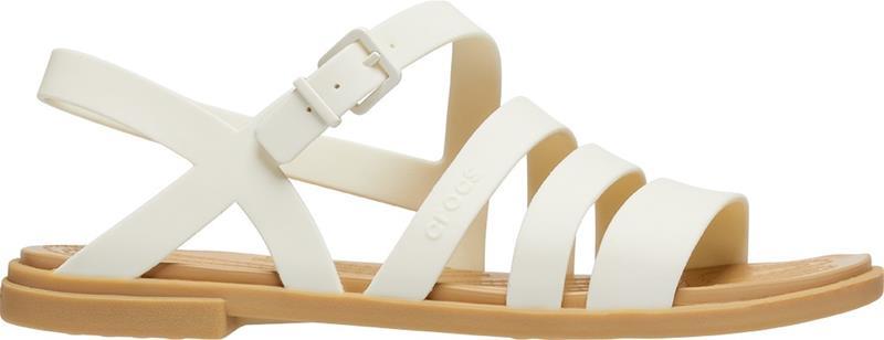 "Crocsâ""¢ naisten vapaa-ajan kengät Tulum Sandal Womens, beige 38,5"