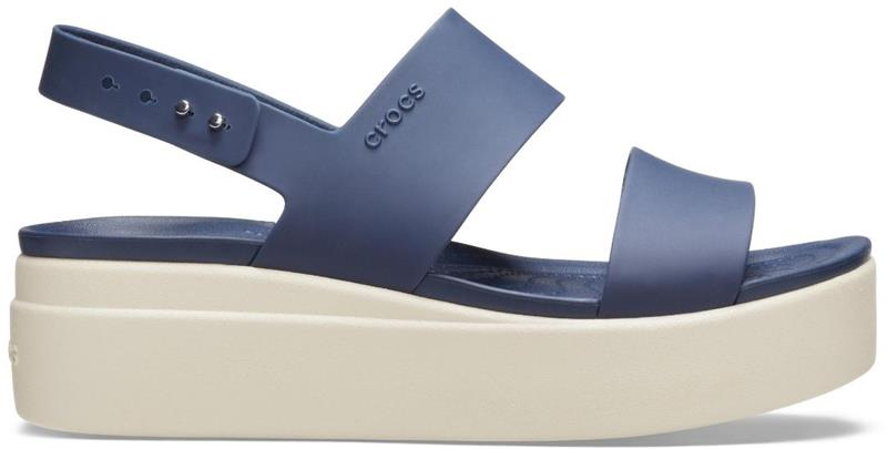 """Crocsâ""""¢ naisten vapaa-ajan kengät Brooklyn Low Wedge Womens, sininen 41"""