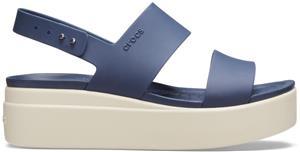 """Crocsâ""""¢ naisten vapaa-ajan kengät Brooklyn Low Wedge Womens, sininen 36,5"""