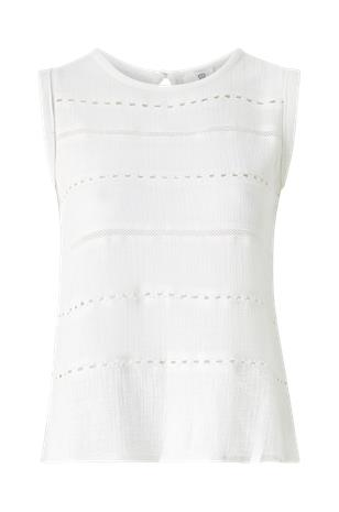 La Redoute Hihaton paita, jossa pyöreä pääntie