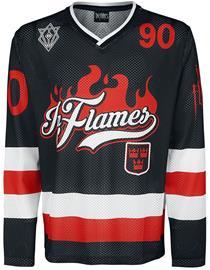 In Flames - Jesterhead Hockey Trikot - Pitkähihainen paita - Miehet - Monivärinen