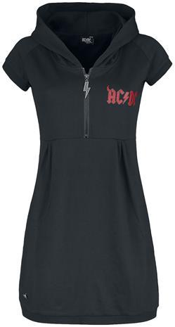 AC/DC - EMP Signature Collection - Lyhyt mekko - Naiset - Musta punainen