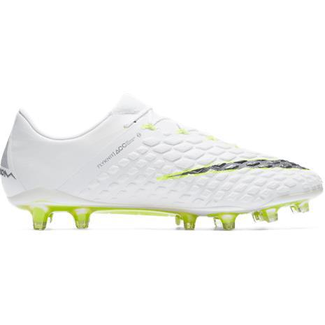Nike HYPERVENOM PHANTOM 3 ELITE FG WHITE/MTLC VOLT, Jalkapallo