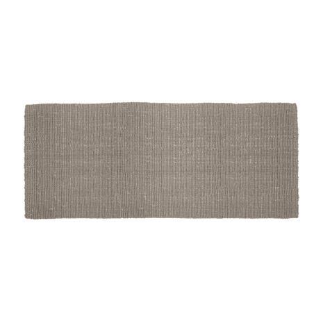 Dixie Dixie-Jute Rug 180x80 cm, Grey