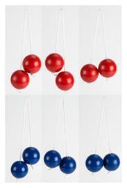 Vini - 6 extra golf ball bolas for ladder golf (24261)