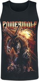Powerwolf - Via Dolorosa - Tank-toppi - Miehet - Musta