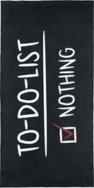 To-Do-List - - Kylpypyyhe - Unisex - Musta valkoinen punainen